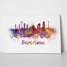 Barcelona watercolor 189126482 a