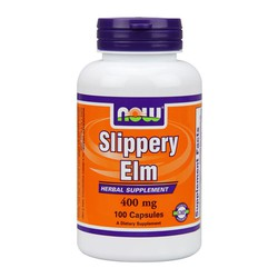 Now Slippery Elm 400mg 100caps
