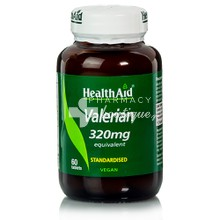 Health Aid VALERIAN Root Extract, 60tabs