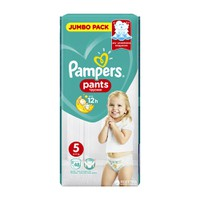 PAMPERS PANTS No5 (12-17KG) JUMBO PACK (48ΤΕΜ)