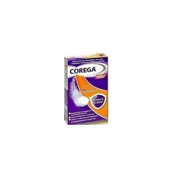 COREGA PARTIALS CLEANSERS 36TABS