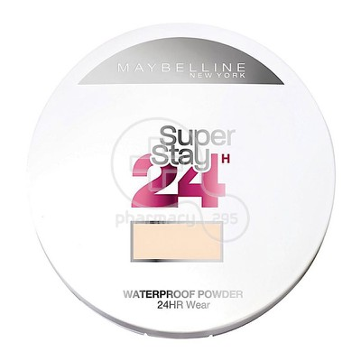 MAYBELLINE - SUPERSTAY 24h Waterproof Powder No10 (Ivory) - 9gr