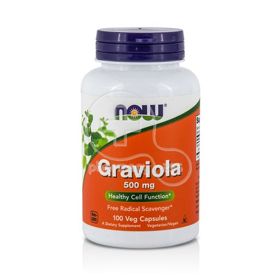 NOW - Graviola 500mg - 100caps
