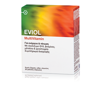 EVIOL MULTIVITAMIN ENERGY & PERFORMANCE 30SOFTCAPS