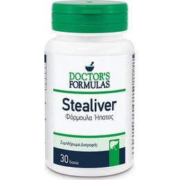 Doctor's Formulas Stealiver φόρμουλα ηπατος 30 Δισκία