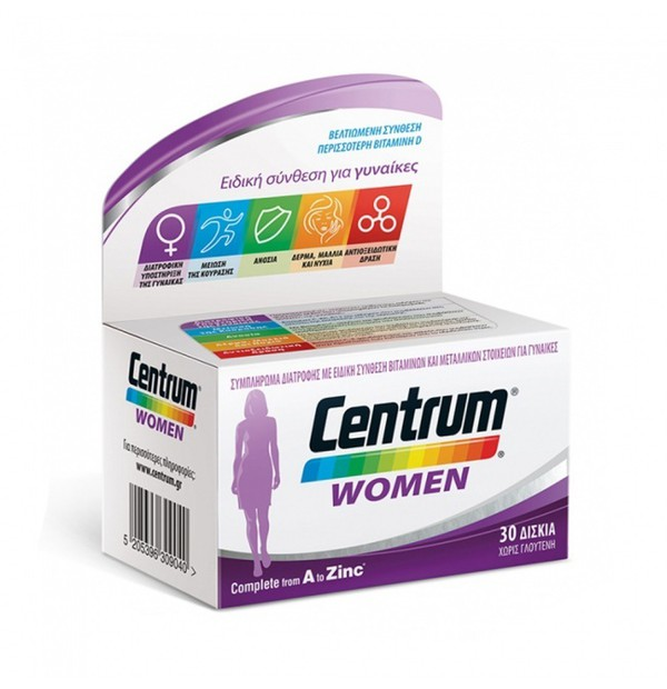 CENTRUM WOMAN 30TABS