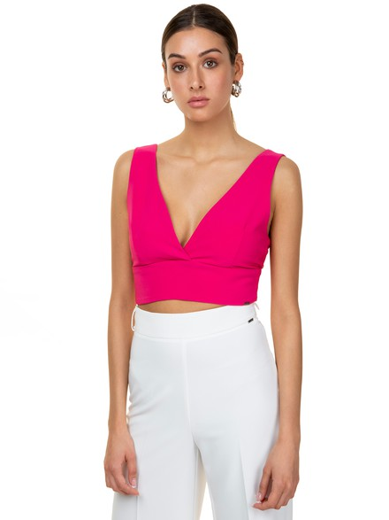 Bodycon crop top