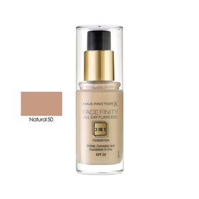 MAX FACTOR ALL DAY FLAWLESS 3ΙΝ1 FOUNDATION 50 NATURAL
