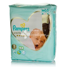 Pampers No.1 (2-5 kg) - Premium Care, 78τμχ.