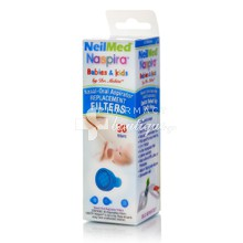 Neilmed Naspira Babies & Kids Nasal-Oral Aspirator Replacement Filters - Aνταλλακτικά Φίλτρα, 30τμχ