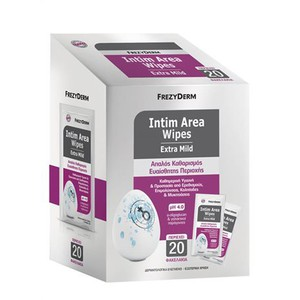 Intim area wipes