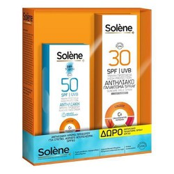 Solene Dry Touch Face cream SPF50 50ml + ΔΩΡΟ Body Spray SPF30 150ml