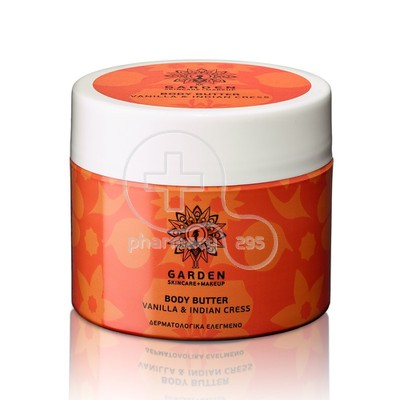 GARDEN - Body Butter Vanilla & Indian Cress - 200ml