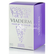 Vivapharm Viaderm Hair Skin Nails - Δέρμα Μαλλιά Νύχια, 60caps