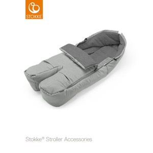Stokke Foot Muff Grey Melange