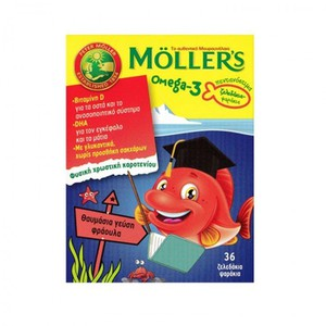 Mollers strawberry 36gums