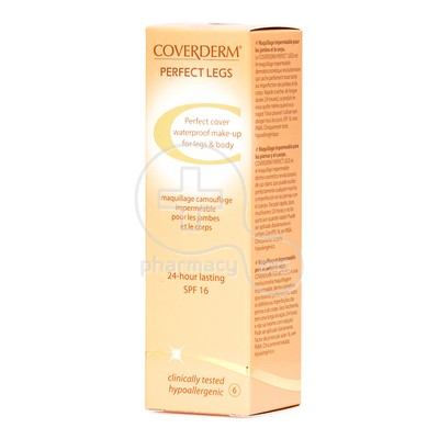COVERDERM - PERFECT LEGS SPF16 (No6) - 50ml