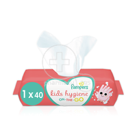 PAMPERS - KIDS HYGIENE On-The-Go Baby Wipes - 40τεμ.