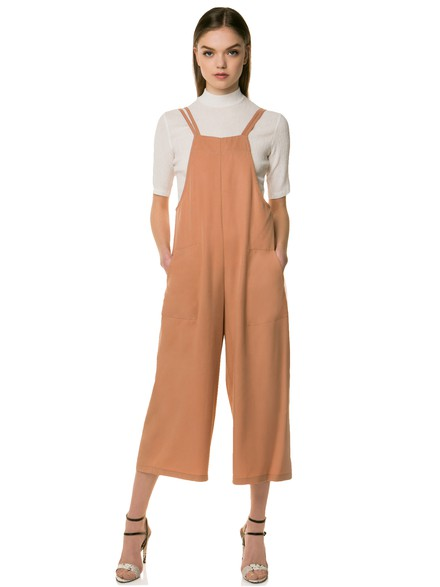 Crop jumpsuits