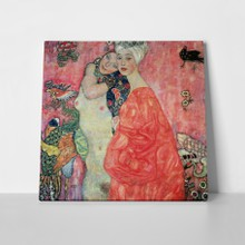 Women friends klimt a