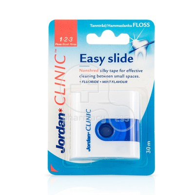 JORDAN - CLINIC Easy Slide Floss - 30m