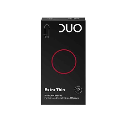 DUO - Extra Thin - Προφυλακτικά πολύ λεπτά - 6τμχ