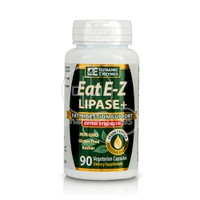 DYNAMIC ENZYMES - Eat E-Z Lipase+ Extra Strenght - 90caps