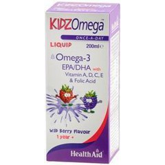 Health Aid KidzOmega Liquid  Σιρόπι 200ml