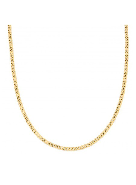 MILLIONALS CUBAN STAINLESS STEEL CHAIN GOLD