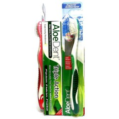 Optima AloeDent Triple Action Toothpaste 100ml  + ΔΩΡΟ Οδοντόβουρτσα