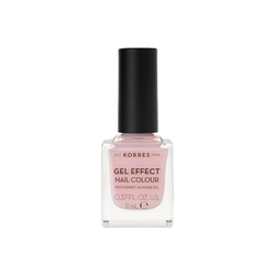 Korres Gel Effect Nail Colour Βερνίκι Νυχιών 05 Candy Pink 11ml