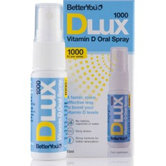 Better You Dlux Vitamin D 1000iu 15 ml