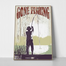 Vintage gone fishing 154007795 a