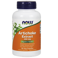 NOW ARTICHOKE (ΑΓΚΙΝΑΡΑ) EXTRACT 450 MG, 90 VEG. CAPS