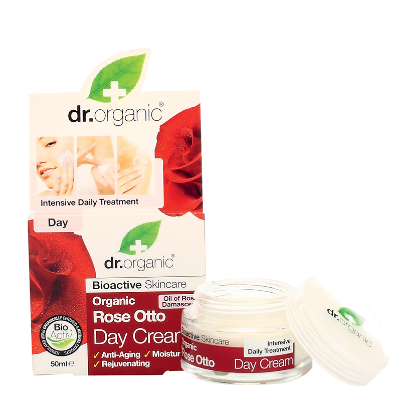 Organic Rose Otto Day Cream
