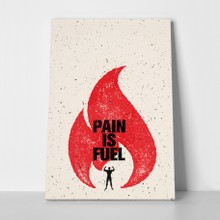 Pain is fuel a