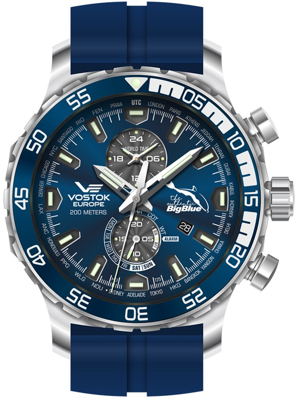 Authentic Big Blue 30 Years Diving Watch Special Edition