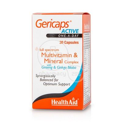 HEALTH AID - Gericaps Active - 30caps