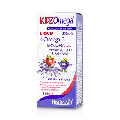 HEALTH AID - KIDZ Omega Liquid - 200ml