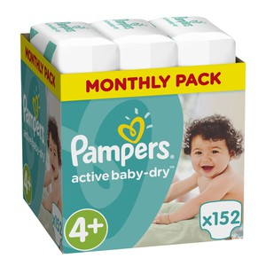 8001090448392 81636087 pampers active baby dry 4