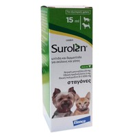 SUROLAN EAR DROPS (DOGS&CATS) 15ML