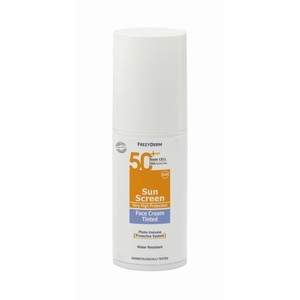 Frezyderm sun screen tinted face cream spf 50                             50 ml