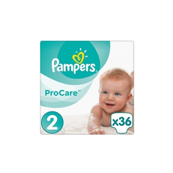 Pampers Pro Care Premium Protection Βρεφικές Πάνες No2 (3-6kg) 36 Τεμάχια