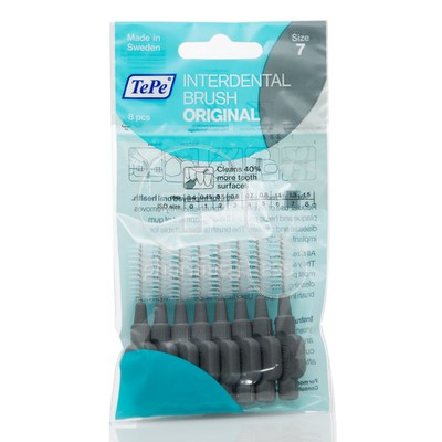 TEPE - INTERDENTAL BRUSH 1.3mm Γκρι - 8τεμ.