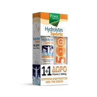 POWER HEALTH HYDROLYTES SPORTS 20EFF. TABL (PROMO+VITAMIN C 500MG 20EFF. TABL)