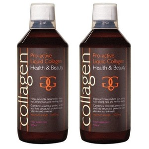 Collagen power pro active liquid collagen health   beauty 2x