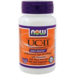 Now UCII 800 mg, (Undernatured Type II Collagen) 60vcaps