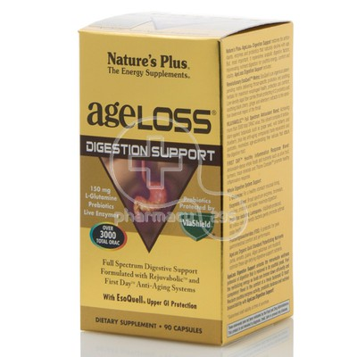 NATURE'S PLUS - AGELOSS Digestion Support - 90caps