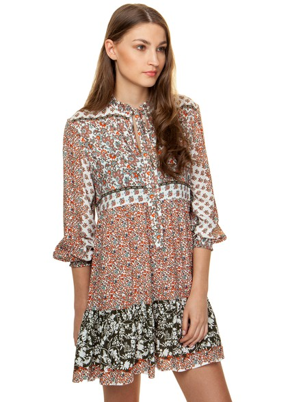 Floral loose fit dress