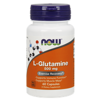 NOW SPORTS L-GLUTAMINE 500 MG, 60 CAPS